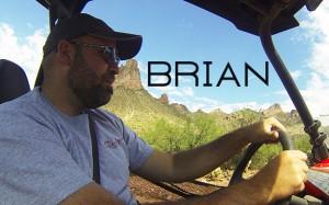 Brian driving Polaris RZR